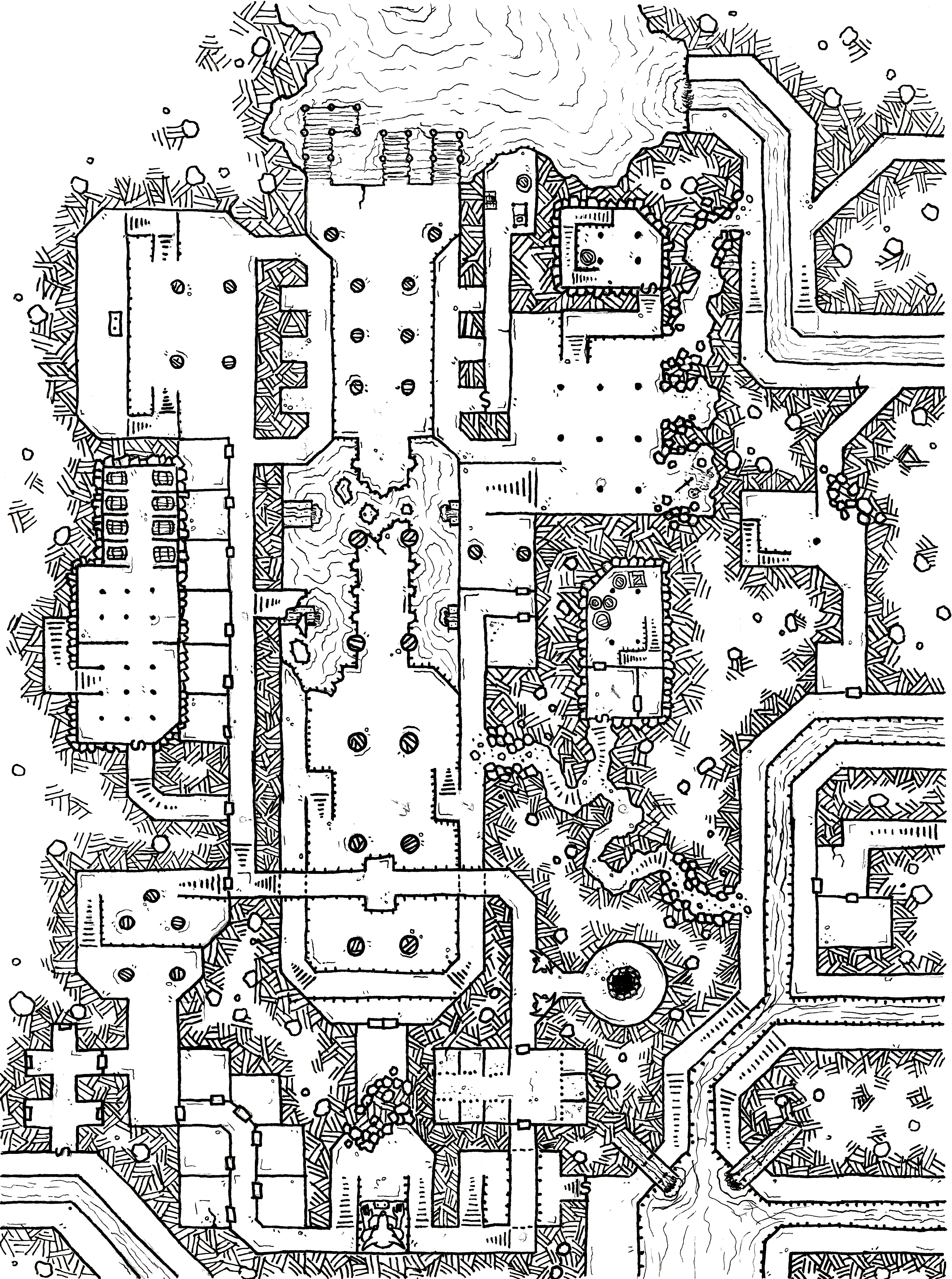 Thieves\' Guild Built in the Subterranean Ruin of [Insert Generic ...