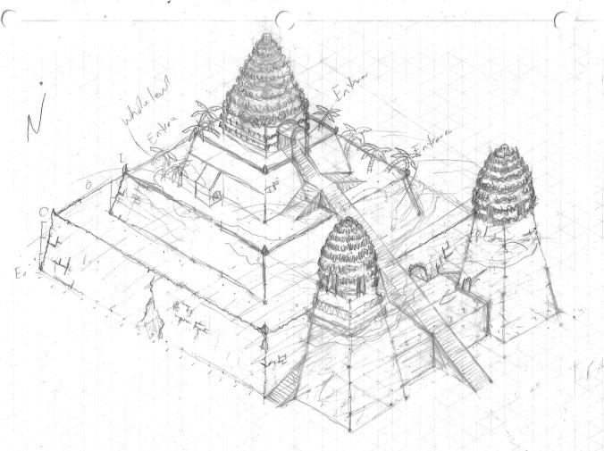 ziggurat 3d