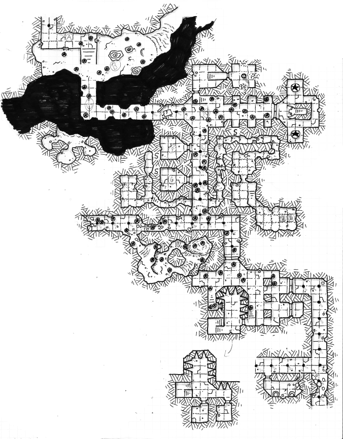 lair of the basilisk map