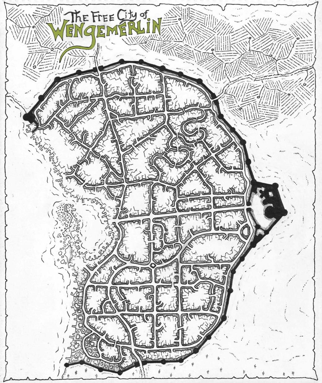 Wengemerlin Map